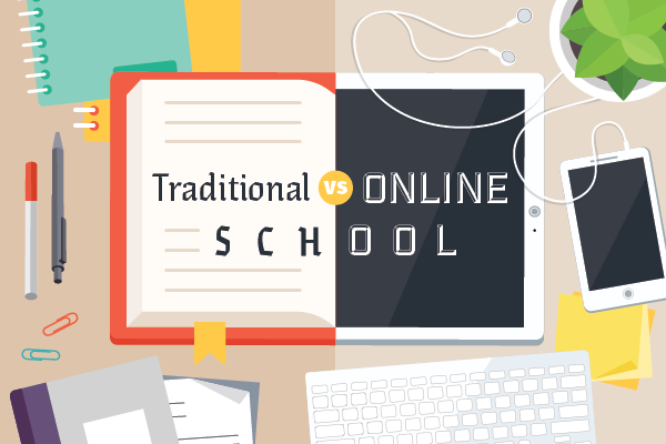 traditional-vs-online-school-title